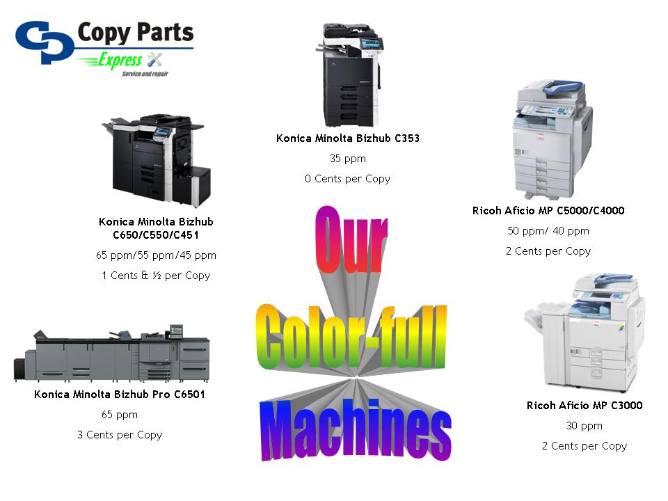 Color Copiers